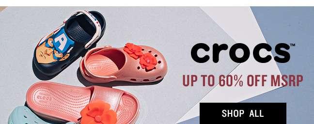 crocs shop all
