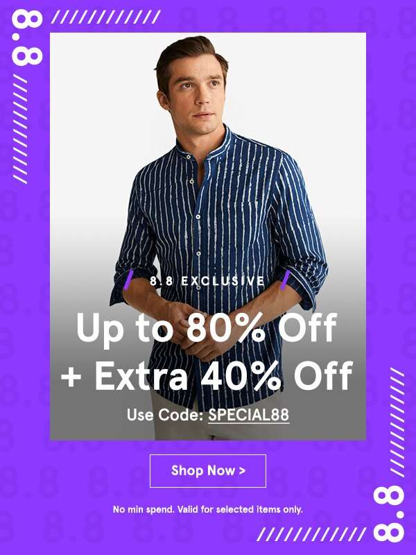 8.8 Special: EXTRA 40% Off!