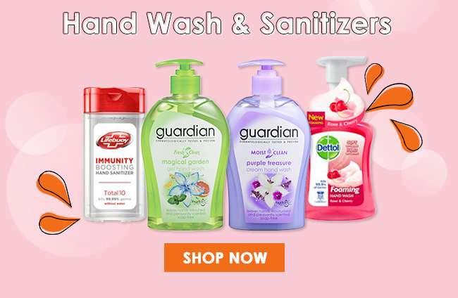 Shop Hand Wash & Sanitizers