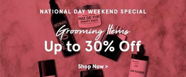 Grooming: Up to 30% Off