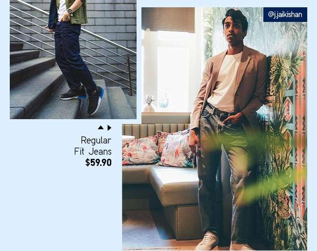 Men's Regular Fit Jeans at $59.90