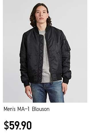 Men's MA-1 Blouson at $59.90