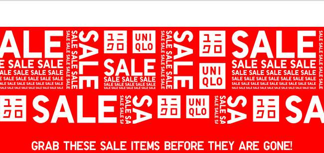 Grab these sale items before they are gone!
