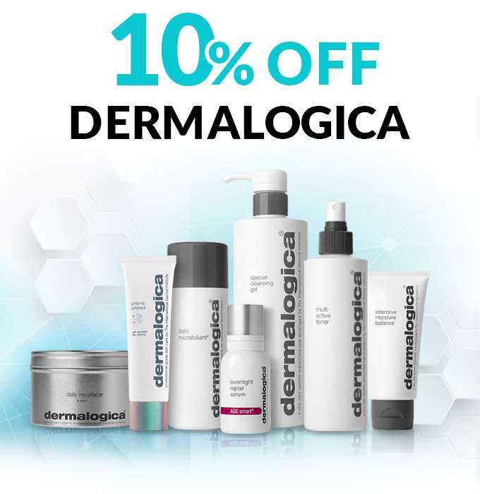 The Brand of Choice for Dermatologists: 10% Off Dermalogica