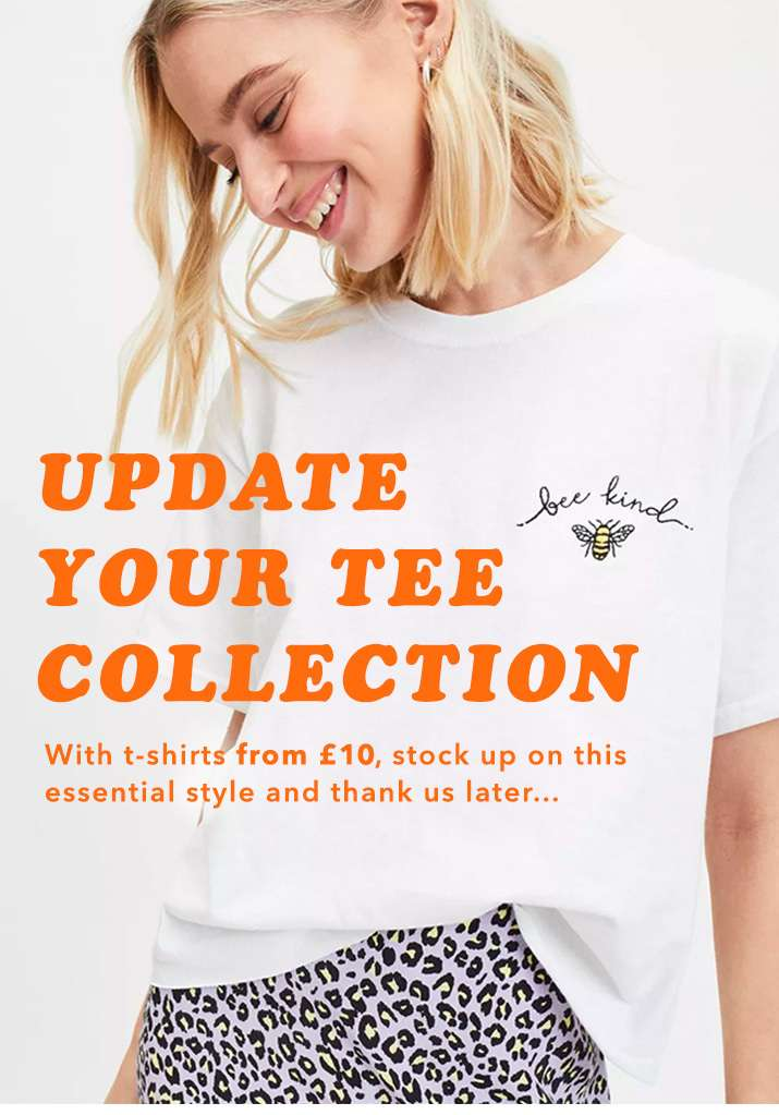 Shop t-shirts from £10