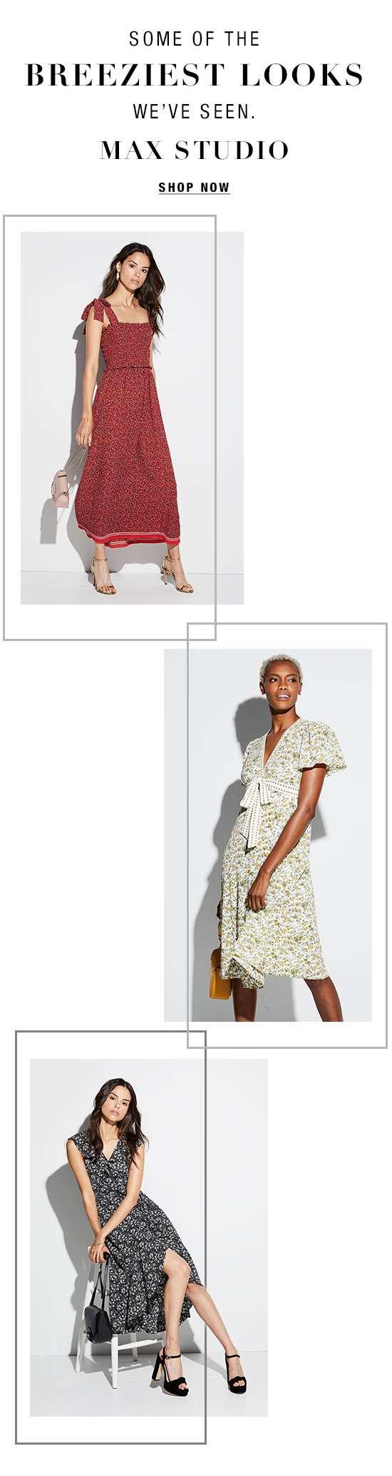 Summer dresses from Max Studio