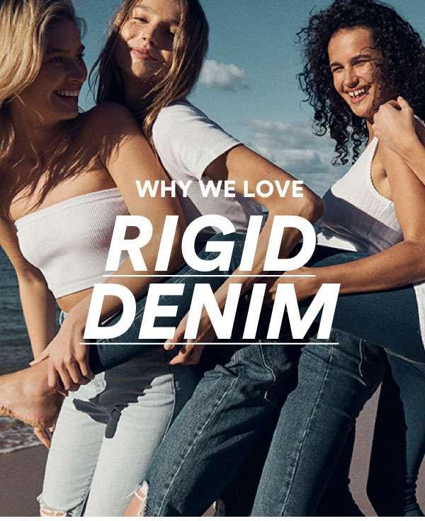 Rigid Denim. New from $39.99 | Shop Now