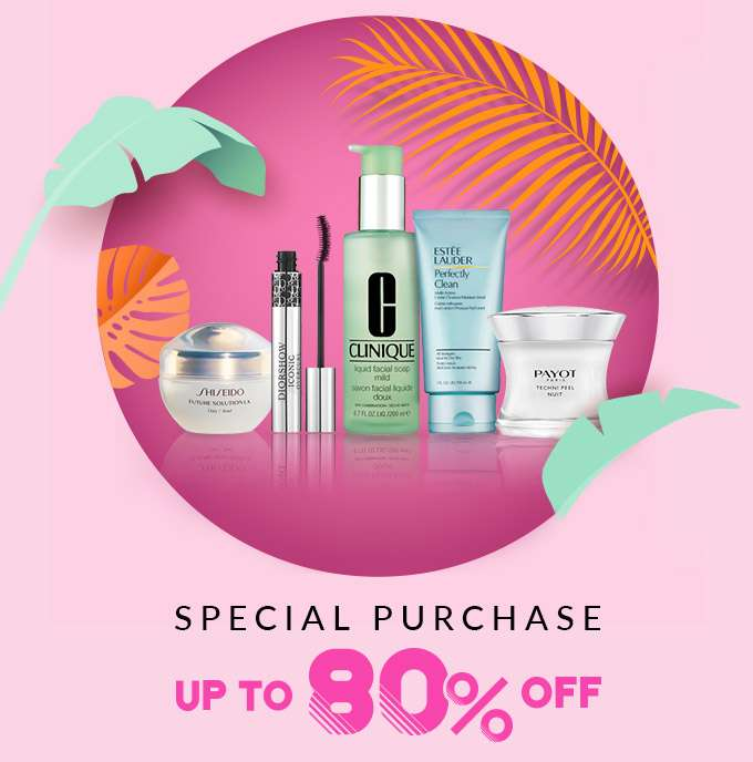 Special Purchase Up to 80% Off!
