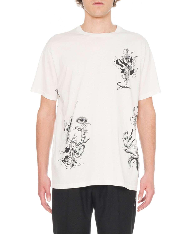 Men's Dragon Print T-Shirt