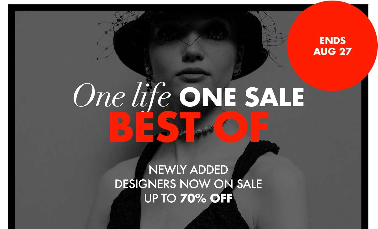 One Life ONE SALE IS BACK!