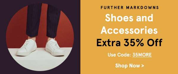 Extra 35% Off Shoes & Accessories