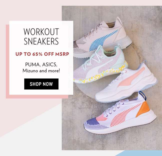Fall Preview: Workout Sneakers