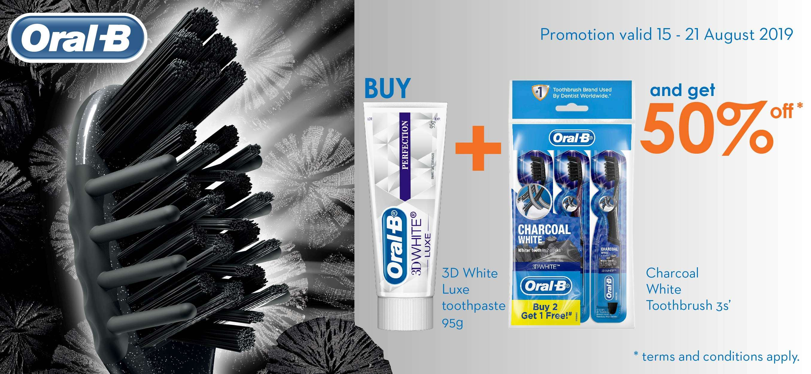 Oral-B Special Promotion