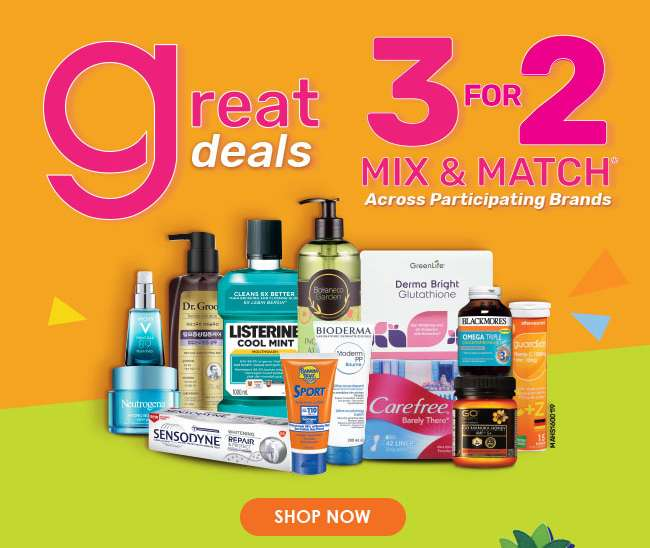 Great Deals | 3 For 2 Mix & Match Across Participating Brands