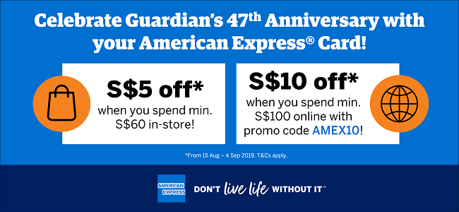 American Express Special Promotion
