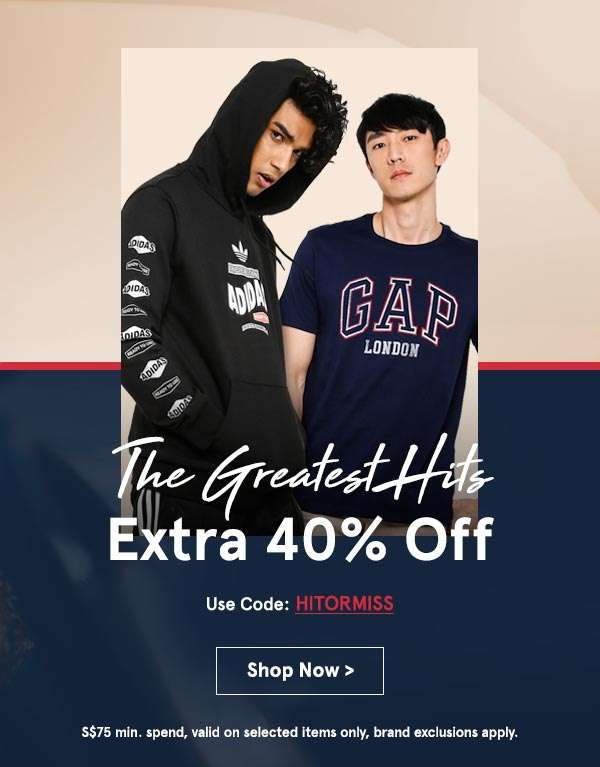 EXTRA 40% Off Ends at 6PM!