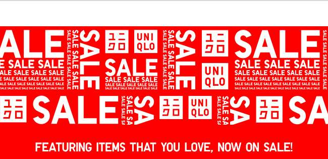 Featuring items that you love, now on sale!