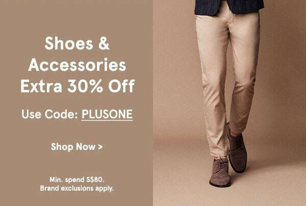 Shoes & Accessories Extra 30% Off
