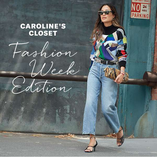 4 key pieces in Fashion Director Caroline Maguire's NYFW rotation.