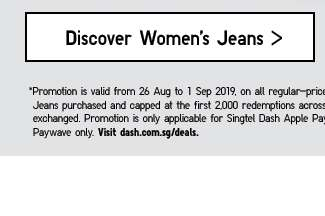 Discover Women's Jeans