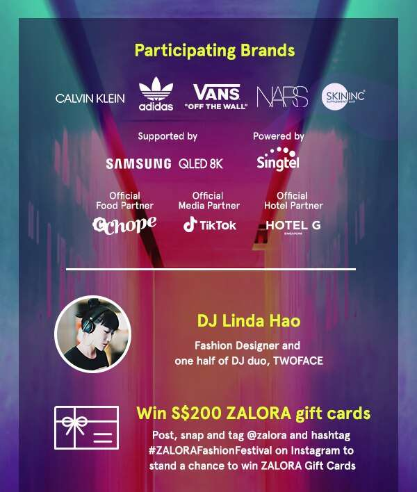 Enjoy live performances and win ZALORA gift cards!