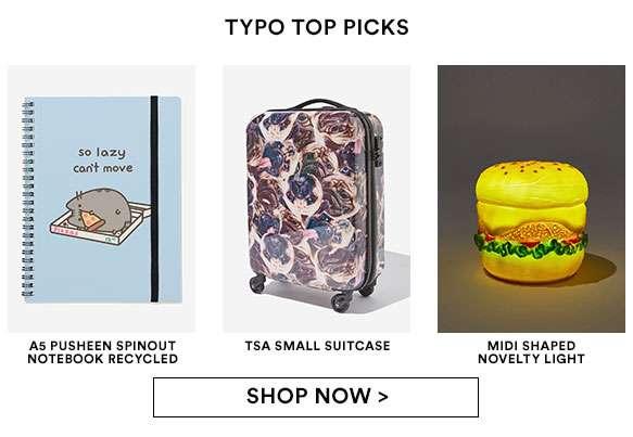 Shop Typo's Top Picks!