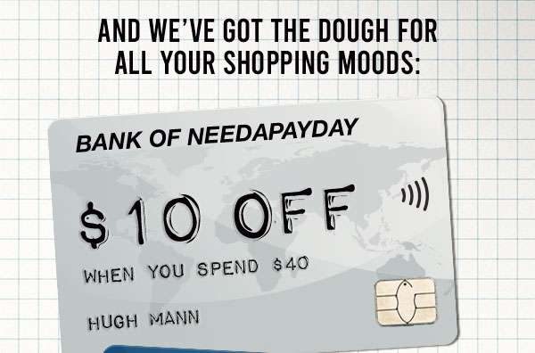 Spend and Save! Shop now.