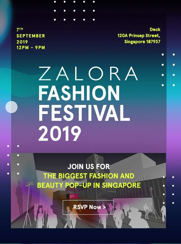 ZALORA Fashion Festival 2019