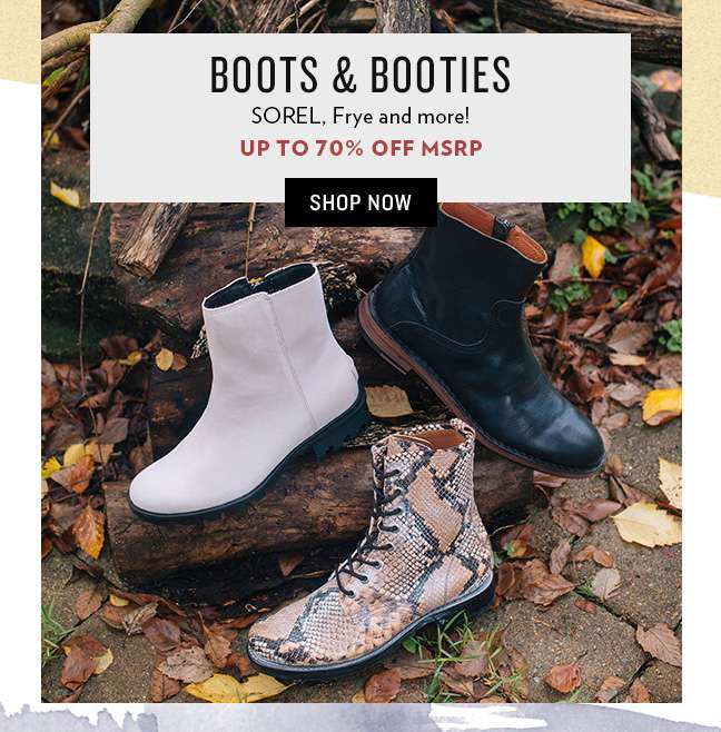 Shop Boots and Booties