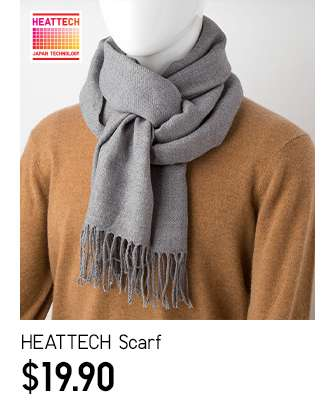 HEATTECH Scarf at $19.90