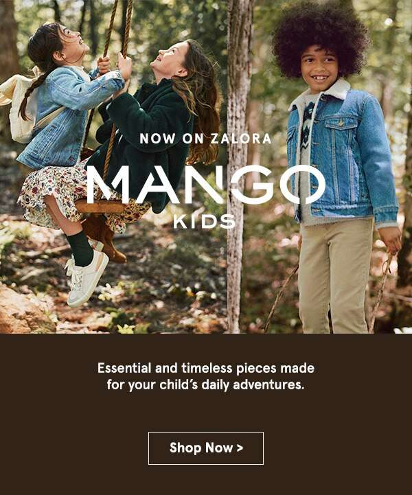 Now On ZALORA Mango Kids