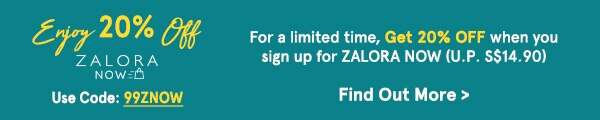 Enjoy 20% Off ZNOW New Subscribers