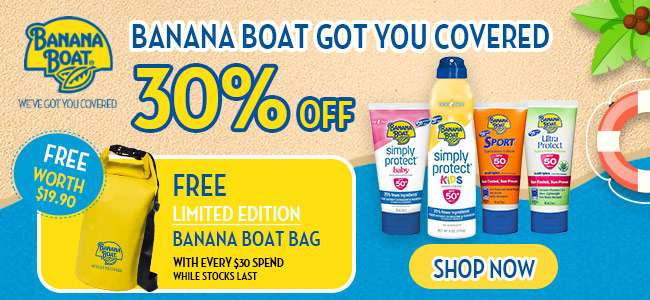 Brand of the Week: Banana Boat