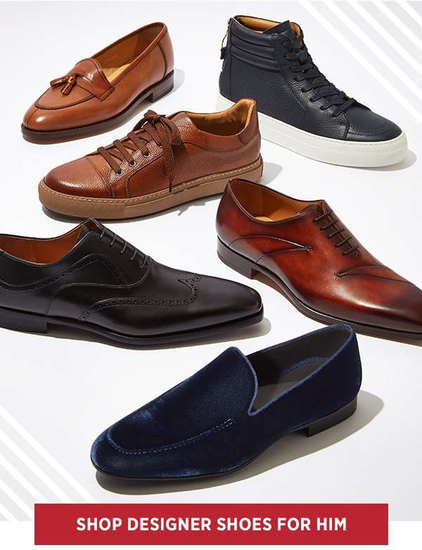 Shop Designer Shoes For Him