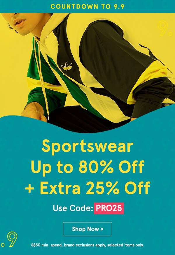 Sportswear Up to 80% Off
