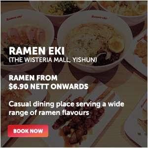 Ramen Eki - Ramen from $6.90 Nett onwards!