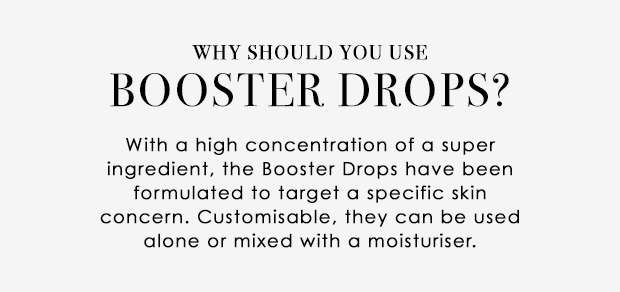 Why Booster Drops?