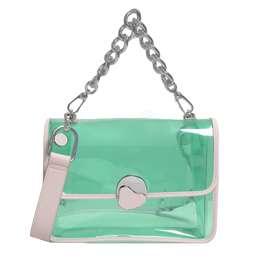 LEATHER BOXY BUCKET BAG