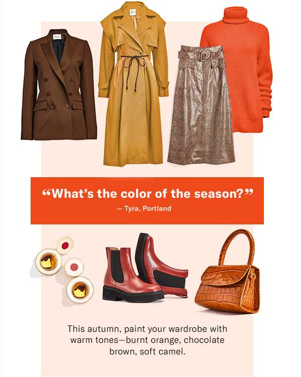 'What's the color of the season?' – Tyra, Portland