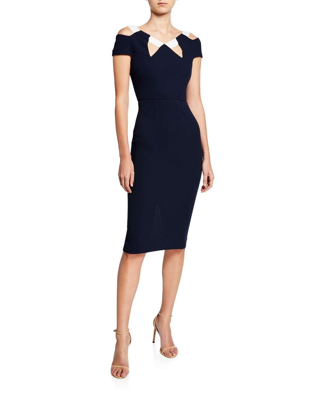 Atkinson Cold-Shoulder Dress