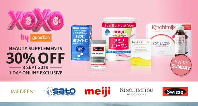 xoxo | 30% off Beauty Supplements | 1 Day Only Online Exclusive