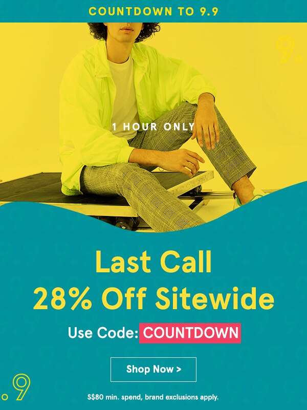1 HOUR ONLY: 28% Off Sitewide!