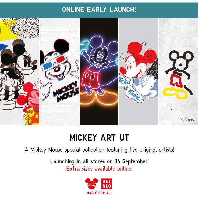 Early Launch Online | MICKEY ART UT Collection