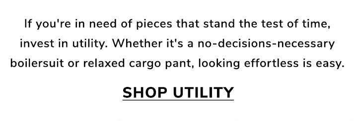 September's uniform - Shop utility