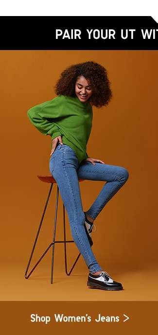 Pair your UT with UNIQLO Jeans | Shop Women's Jeans