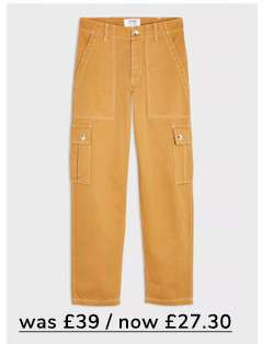 Sand Cargo Pocket Trousers