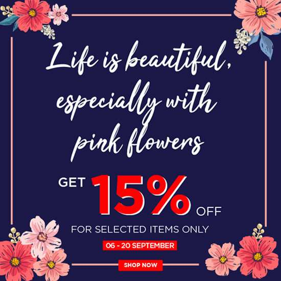 15% OFF - Life Is Beautiful