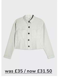 Pale Green Utility Jacket