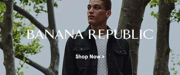 New on ZALORA: Banana Republic