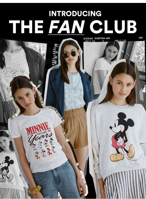 Introducing the Fan Club. Novelty from $5. | Shop Now